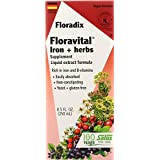 Floradix Floravital Iron + Herbs Supplement Liquid Extract Formula 250毫升 1.00