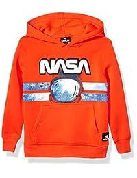 Southpole 男童小款 NASA 系列羊毛运动衫(连帽衫,圆领)