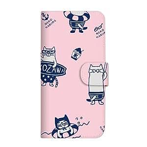 Mitas 手册式 带皮带 运动裤 猫咪 冰感SC-3995-KUJ38/P10 lite 18_HUAWEI (P10 lite) ネコまるけ 冷感 PK