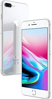 Apple iPhone 8 Plus,64GB,银色 - 完全解锁(*版)