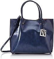 Armani Exchange 女士別致小號購物手提包,22x11x25 厘米