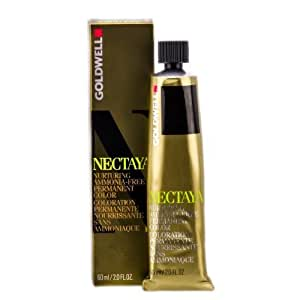 Goldwell Nectaya Permanent Hair Color, 7na Mid Natural Ash Blonde, 2.03 Ounce