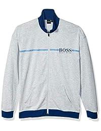 HUGO BOSS 雨果博斯男式正品常规拉链领休闲夹克