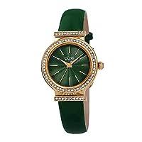 Burgi analog 皮革 绿色 BUR230GN watches