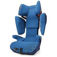 德国CONCORD谐和儿童汽车安全座椅Transformer系列-XBAG 海洋蓝 新款(适合13kg-36kg 85cm以上宝宝,约3-12岁,高性价比,可调节椅背高度、宽度,带isofix接口,品牌5次ADAC测试好成绩)