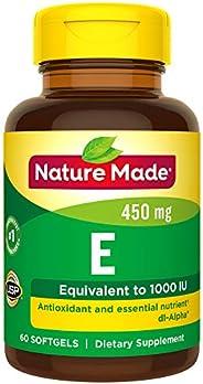 Nature Made 维生素E 1000 IU (dl-Alpha) 软胶囊 (3件装)