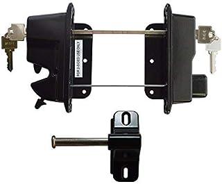 National wide Industries Keystone Advantage 锌压铸金属双面钥匙锁锁 - 黑色 - KLADV-M2-BK