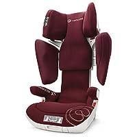 德国CONCORD谐和儿童汽车安全座椅Transformer系列-XT 波尔多红 新款(适合13kg-36kg,85cm以上宝宝,约3-12岁,一键调节头枕高度、肩部的高度、宽度倾斜度,全包围的壳状保护,带isofix接口,品牌5次ADAC测试好成绩)