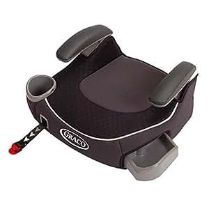 (跨境自营)(包税) GRACO 葛莱 汽车儿童安全座椅增高垫4-12岁 ISOFIX\LACTH 黑色
