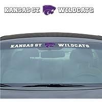 堪萨斯州野猫队 88.9 厘米 x 10.16 厘米 挡风玻璃贴纸
