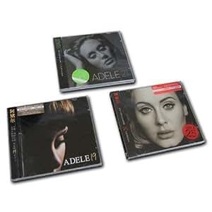 正版现货 包邮| Adele 阿黛尔: 19(16再版)+21(16再版)+25 3CD 专辑套装 中英歌词本