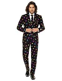 OppoSuits 男士紧身裤西装和领带