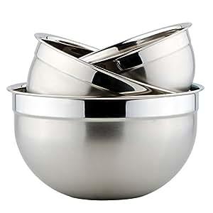 震龙zenlo 304#多用沙拉盆 套装  打蛋盆 调料缸 调料盆 多用途盆 (16/20/24套装)