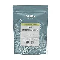 Suki Tea Green Tea Sencha (Pack of 1, Total 50 Pyramids)