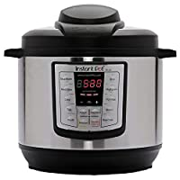 Instant Pot LUX80 8夸脱/约7.568升 6合1多用途可编程高压锅,慢炖锅,电饭煲,炒锅,蒸锅和加热器 需配变压器
