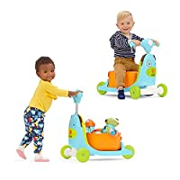 Skip Hop 儿童三合一滑板车和四轮车玩具 狗