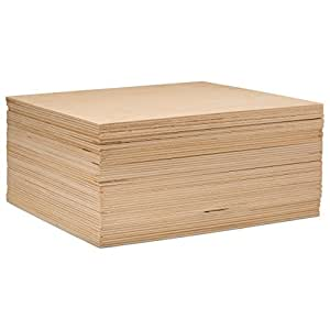 "3 mm 1/8"" X 10"" X 10"" 优质波罗的海桦木胶合板 - B/BB 级 - Woodpeckers 出品的床单 natural color of unfinished wood BPW-1/8x10x10-16"