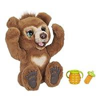 FurReal friends Cubby好奇熊互动毛绒玩具,适合 4 岁及以上儿童