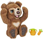 FurReal friends Cubby好奇熊互動毛絨玩具,適合 4 歲及以上兒童