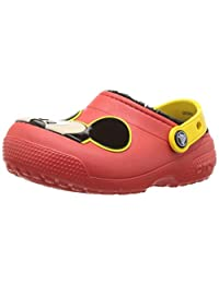 Crocs 男童女童 Disney 米奇老鼠 Fuzz 内衬洞鞋