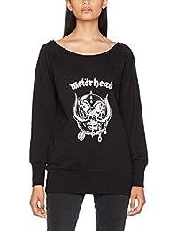 MERCHCODE 女士Motörhead Everything Louder 宽领口毛衣