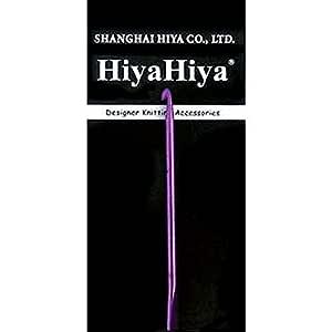 6 英寸 (15cm) HiyaHiya 钩针铝合金 Size-US-E-(3.5mm) HIALCRO6-E