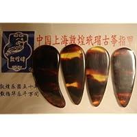 两套常规古铜琴拨片 (Celluloid) 尺寸小号