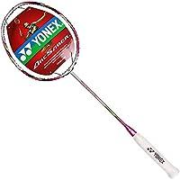 YONEX 尤尼克斯 女式 弓箭系列羽毛球拍专用全碳素单拍 未穿线 ARC6FL 红色(亚马逊自营商品, 由供应商配送)