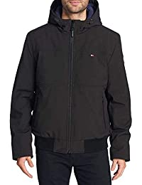 Tommy Hilfiger Men's Soft-Shell Bomber Jacket, Variety