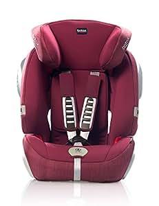 Britax 宝得适 汽车儿童安全座椅 全能百变王 五点式安全带 宝石红 适用于9个月-12岁