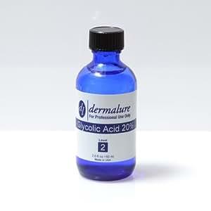 Glycolic Acid Peel 20% 2oz. 60ml (Level 2 pH 1.6)