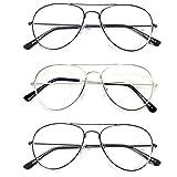 男式女式中性款经典老花阅读眼镜镜片