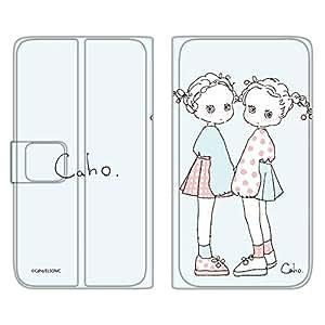 caho 翻盖保护套超薄翻盖印花柔软手机保护壳翻盖式适用于所有机型  ふわふわE 17_ Nexus6 Shamu