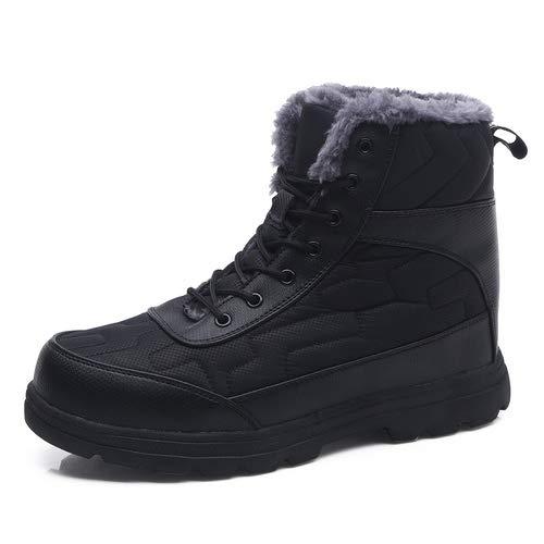 女性フェイクファーの豪華なウール*泡のスリッパは、ペダルアウトドアシューズに上履きを正孔男性の女性の雪のブーツ防水ブーツやアンクルブーツ暖かい光毛皮ライニング靴