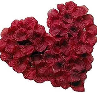 Magik 1000~5000 件丝绸花玫瑰花瓣婚礼派对意大利面桌装饰,各种选择 *红色 2000 AX-AY-ABHI-108647