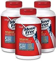 Move Free  益節葡萄糖胺和軟骨素+ msm和d3關節維生素片 move free(1瓶120粒),3瓶, 360粒