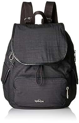 Kipling 女式城市装 S 背包 Black (Dazz Black) 27x33.5x19 cm (B x H x T)