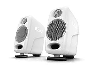Multimedia iLoud 微型显示器扬声器,白色