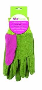 粉色拇指园艺手套