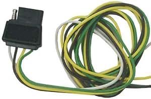 Sierra International TC44224 4 杆罩平拖车侧线电线套装带拼接器和连接器