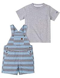 Calvin Klein 男婴 2 件套连衣裤