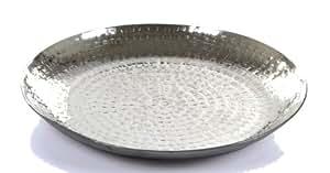 装饰碗锤锻金属硬铁系列 25.4cm