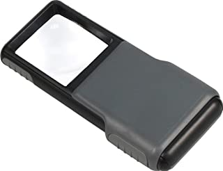 Carson 光学5X minibrite LED 发光 slide-out aspheric 放大器与防护内胆