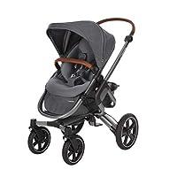 Maxi-Cosi Nova 组合婴儿车,适合出生至 3.5 岁使用,舒适的户外/越野婴儿车。 浅灰色