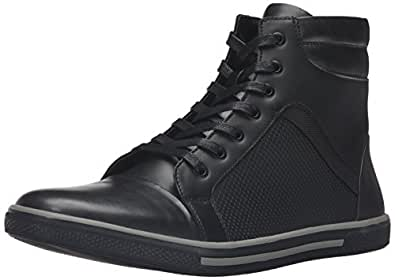 Kenneth Cole Unlisted 男士 Crown Worthy 时尚运动鞋 黑色 11.5 M US