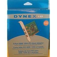 Dynex 3 端口 FireWire/IEEE 1394 PCI 卡
