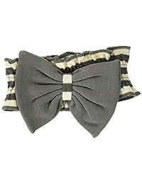 L'ovedbaby Stripe-A-Pose Collection 条纹 弓形领带 sap-501 灰色/米色・0~12个月