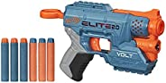 NERF Elite 2.0 Volt SD-1 玩具枪 -- 6 个官方飞镖,光束瞄准,2 个飞镖存储,2 个战术轨道用于定制战斗