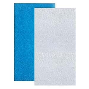 Aquatic Experts 经典粘合水族箱过滤器垫 - 蓝色和白色水族箱过滤介质卷散装可以切割成适合大多数过滤器,美国制造 Classic Filter Pad & 50 Micron Polishing Pad