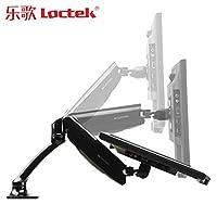 乐歌 Loctek DLB502电脑显示器支架桌面万向旋转升降伸缩底座显示器增高架托架(亚马逊自营商品, 由供应商配送)